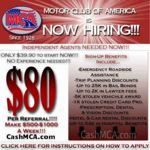 Motor Club Of America Home